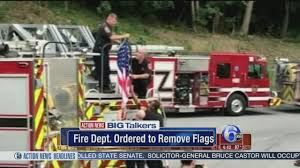 American Flags Ordered Removed From Upstate New York Fire Trucks ... Prostejov Czech Rep 28th January Several Firefighting Trucks Firefighters Fire Work Action Place Stock Photo Edit Now Fire Trucks Cars Wwwmaniatoyscom Pierce Boryspil Ukraine April 27 2017 Read Book In 2015 16month Calendar September Bellerose Department Long Island Truckscom Real For Kids In Emergency
