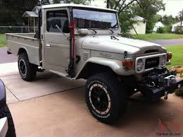 1980 Toyota Land Cruiser FJ45 Single Cab Pickup 2-Door 4.2L ...