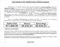 Carta De Finiquito Tarjeta De Credito Banco Exterior Prestamos