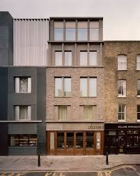 100 Townhouse Facades 3144 Architects 1519 Redchurch HIC Arquitectura