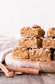 Desserts With Pumpkin Pie Filling by Pumpkin Pie Crumb Bars Gluten Free Refined Sugar Free Vegan