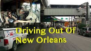 New Orleans Morning Run ~ Driving Out Of The City ~ RV's Are Not ...