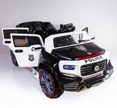 100 Kids Electric Truck 2 Seats Police Truck Ride On Car Kids Child Electric Toy 12 Volts
