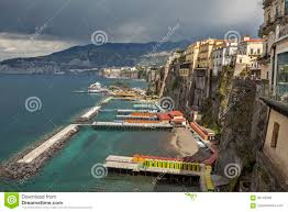 100 Houses In Sorrento Pier And Stock Image Image Of Mountain