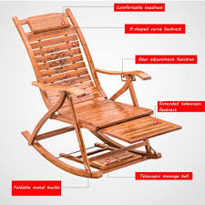 XITER Bamboo Outdoor Rocking Chair With Massage Footrest ... Wooden Folding Rocking Chair Sling Honeydo List Folding Durogreen Classic Rocker White And Antique Mahogany Plastic Outdoor Rocking Chair Giantex Wood Garden Single Porch Indoor Sunnydaze Allweather With Faux Design Hemingway 41 Acacia Patio Jefferson Chairs Barricada Claytor Eucalyptus Wood Administramosabcco