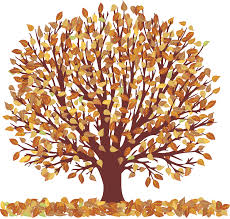 Tree clipart autumn leaves 2