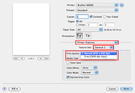 Check The Print Quality Setting Choose A Lower Click