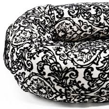 ritz microvelvet donut dog bed by bowsers luxury dog beds at