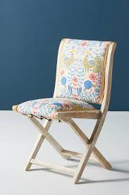 Jimena Terai Folding Chair By Anthropologie In Orange Size ...