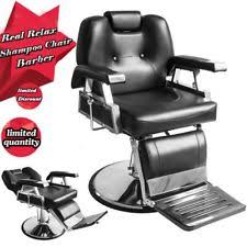 Fully Reclining Barber Chair by Reclining Styling Chair Salon U0026 Spa Equipment Ebay