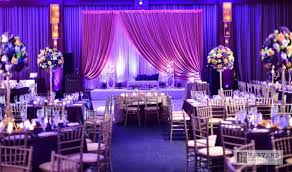 Indian And Muslim Wedding Reception Ideas In A Purple Color Scheme