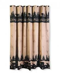 Rustic Shower Curtain Hooks Lodge Style