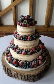 Fruit Laden Semi Naked Cake