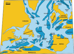 Where Does Seafloor Spreading Take Place by Source Rocks And Petroleum Systems Of The Scotian Basin Cseg