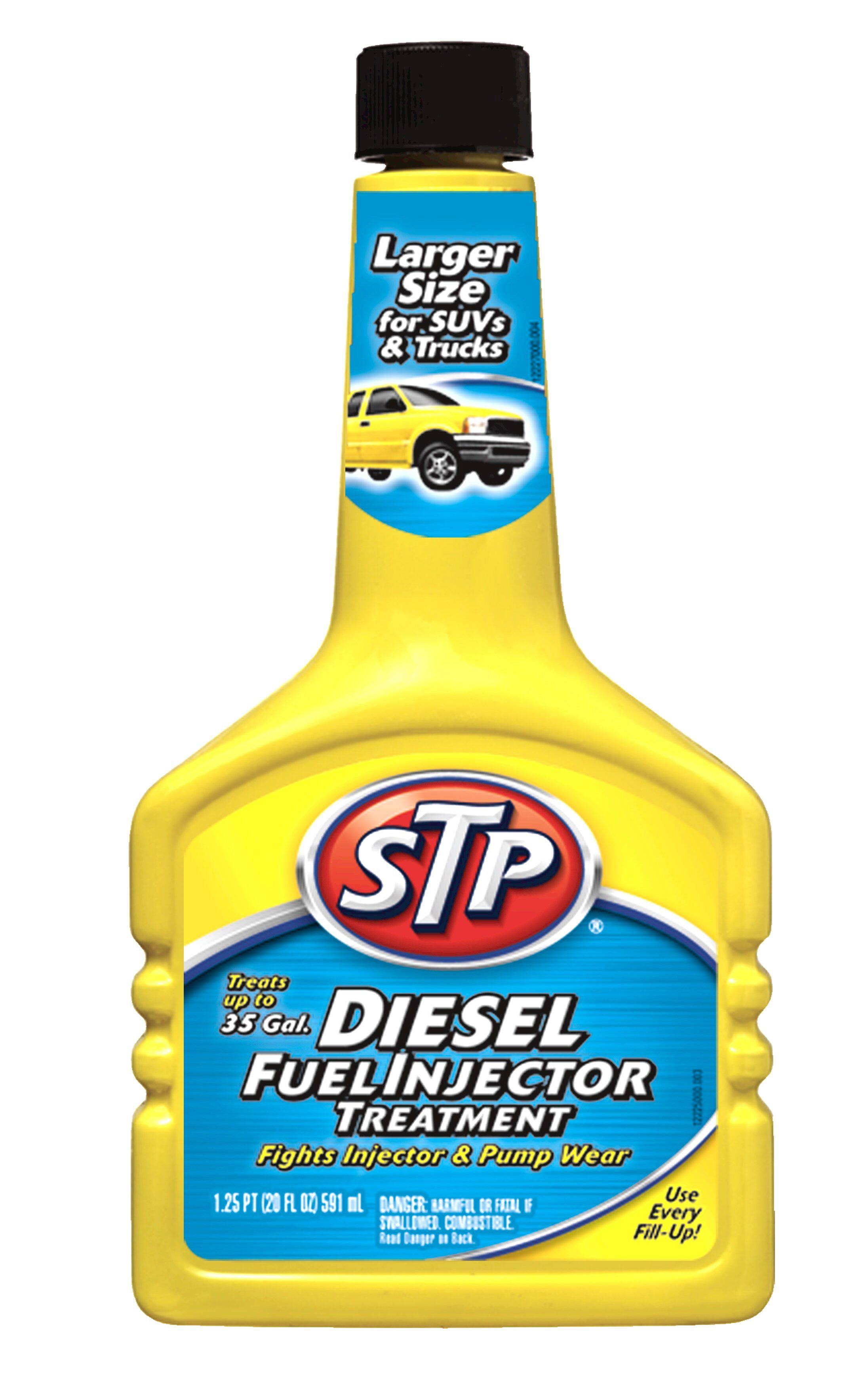STP Diesel Fuel Treatment & Injector Cleaner - 1.25 Pint