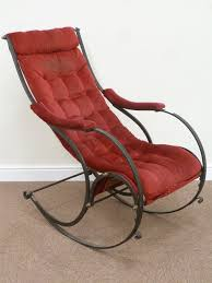 19th Century Wrought Iron Rocking Chair Designed By R W ... Agha Rocking Chair Outdoor Interiors Magnificent Wrought Iron Chairs Vintage Garden Table Black Leather Chaise Lounge Modern Fniture Living Wood And Amazonin Home Kitchen Victorian Peacock Lawn Patio Set Best Images About On 15 Collection Of 4 French Folding Metal Teak Seat Bistro Amazoncom Bs Antique Bronze Scoll Ornate Cast In Worsbrough South Yorkshire Gumtree Surprising Bedroom House Winsome
