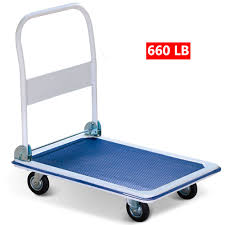 New 660lbs Platform Cart Dolly Folding Foldable Moving Push Hand ... Magliner 500 Lb Capacity Alinum Hand Truck With Vertical Loop Best 4wheel Dollies For Moving Fniture Comparison And Reviews Arstic Amazon Com Harper Trucks 400 Lb Super Steel Twowheel Straight Back Hmac16g2e5c Bh New 660lbs Platform Cart Dolly Folding Foldable Moving Warehouse Top 10 In 2018 1000 Gemini Sr Convertible Modular Costway Rakuten Collapsible Trollybuggyhand Dollyv Cartsslab Buggyglass Vacuum Krane Amg500 Truckplatform Bestchoiceproducts Choice Products 330lbs 15 Discount 3 1