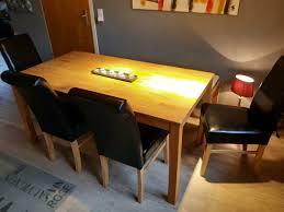 komplettes esszimmer tisch bank u stühle