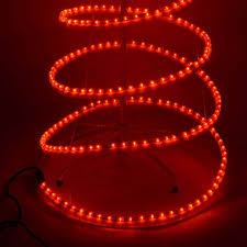 Small Spiral Lighted Christmas Trees by Red Spiral Christmas Tree Home Design Inspirations