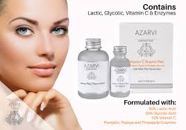 Pumpkin Enzyme Peel Before And After 20 salicylic acid chemical peel with neutralizer azarvi