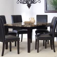 kitchen table superb marble dining table 4 chairs stainless