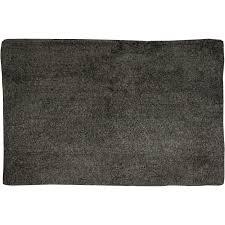 badteppich baumwolle 70 cm x 45 cm anthrazit
