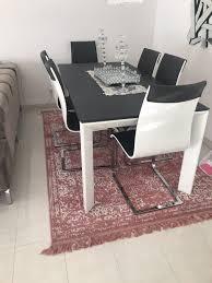 höffner esszimmer esstisch mit 6 stühlen
