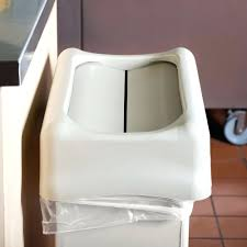 Small Bathroom Trash Can With Lid by Mini Swing Top Trash Can Black Image Swing Lid Garbage Cans Swing