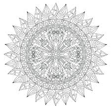 Cool Mandala Coloring Pages Page Owl Detailed