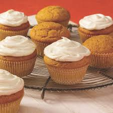 Cake Mix And Pumpkin Puree Muffins by Spiced Pumpkin Cupcakes Mccormick