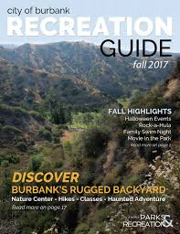 Mrs Heathers Pumpkin Patch Albany by Fall 2017 Recreation Guide By Burbank Parks And Recreation Issuu