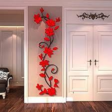 Generic DIY 3D Flower Decal Vinyl Decor Art Home Living Room Wall Sticker Removable Mural Acrylic
