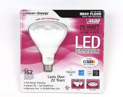 niob feit dimmable br40 led 16w flood light bulb 75 watt