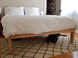 bed frame platform bed frame king room sets diy designs mahogany