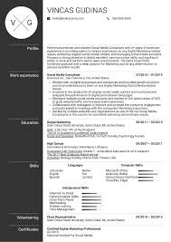 Resume Examples By Real People: Social Media Consultant ... Social Media Manager Resume Lovely 12 Social Skills Example Writing Tips Genius Pdf Makeover Getting Riley A Digital Marketing Job Codinator Objective 10 To Put On Letter Intern Samples Velvet Jobs Luxury Milton James Template Workbook Package Ken Docherty Computer For Examples Floatingcityorg Write Cover Career Center Usc