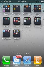 How to Organize Your iPhone 4 s Icons into Folders dummies