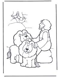 Bible Coloring Pages For 3 Year Olds Danil In Der Lwengrube