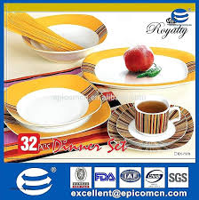 Restaurant Dinnerware Sets Durable Porcelain Set Rustic