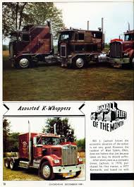 100 Jackson Trucking Photo December 1981 Small Fleet Of The Month A 12 Overdrive