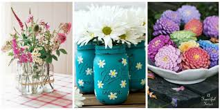 35 Easy Flower Crafts Ideas For Craft Projects With Flowers Work At Home