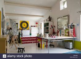 100 Level Studio Split Level Artists Studio Atelier With Plan Table And Plenty Of
