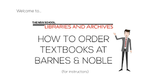 How To Order Textbooks At Barnes And Noble | The New School ... Barnes Noble Customer Service Complaints Department College Bookstore Opens In Hahne Co Building Buy Or Rent Psychology Textbooks Save Up To 90 Nobles Beloved Quirky 5th Ave Store Has Closed For Good And Noble Textbook Buy Back Art X Ray Reading Secrets Closes The Book On Fifth Crains New Bookstore Has Home Southern Miss Gulf Park Its Backtoschool Time At Nmsu Despite Ereader Valuengine Rates A Hold Lead Uconns Operation Uconn Today First Etextbook Experience With Yuzu