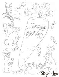 Best Of Free Printable Bunnies Coloring Page For Easter Perfect The 16
