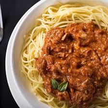 recette de pate au thon recette les pâtes au thon à la sauce tomate