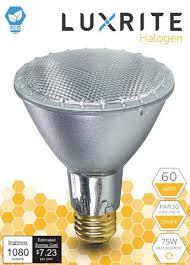 luxrite lr20633 6 pack par30 eco halogen neck light bulb