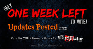 Haunted Attractions In Nj And Pa by Voting Updates July 22 2017 The Scare Factor Haunted House Reviews