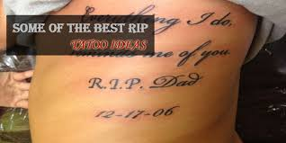 The Best RIP Tattoo Ideas To Start With