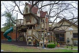 Photo Of Big Playhouse For Ideas by Amazing Big Treehouse Luxury Outdoor Playhouse