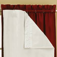Eclipse Blackout Curtains 95 Inch by Eclipse Blackout Thermaliner Curtain Panels Set Of 2 Walmart Com