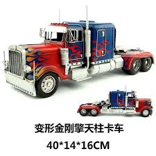 100 Optimus Prime Truck Model USD 9663 Retro Wrought Iron Model Transformers Truck